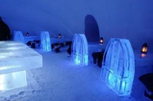 ледяная гостиница в Кеми