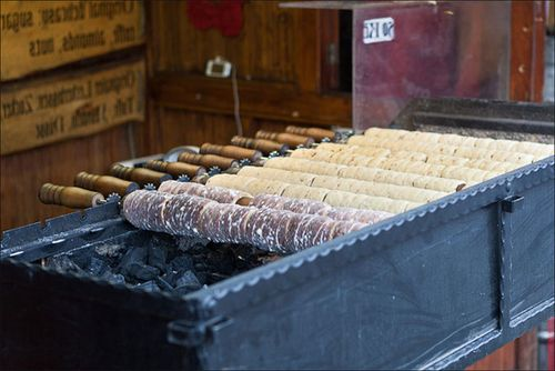 трдло - чешский десерт