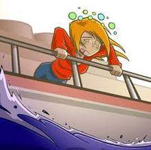 укачивание, морская болезнь
