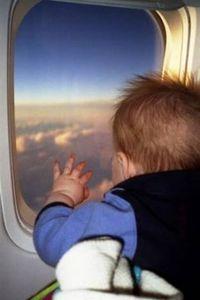 путешествие с ребенком в самолете