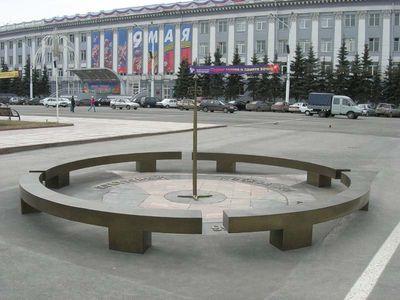 нулевой километр в Кемерово