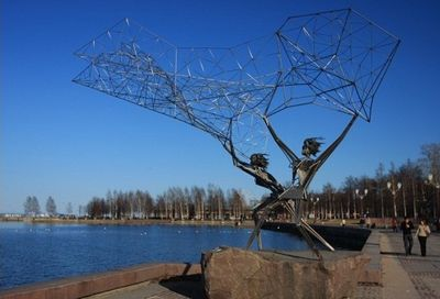 Памятник рыбакам. Петрозаводск.